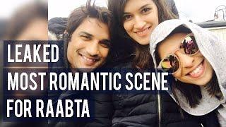 Details on Sushant Singh Rajput  Kriti Sanon's most romantic scene for Raabta! 1080i