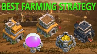 INSANE Farming Strategy for TH7, TH8, and TH9 | Clash of Clans | 2017
