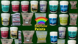 Rainbow Paints manufacturers of  quality paint products at peenya bengaluru bangalore india