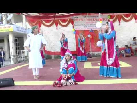 HAMIRPUR HP FOLK DANCE VIDEO FOR SCHOOL FUNCTIONS