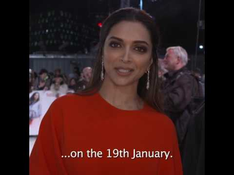 Deepika Padukone in UK - 'xXx: Return Of Xander Cage' releases on 19th January 2017