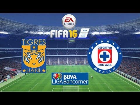 Xxx Mp4 Tigres Vs Cruz Azul Liga MX Jornada 17 A2015 Simulación FIFA 16 3gp Sex