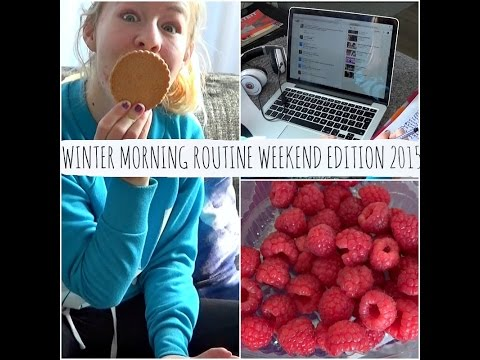 WINTER MORNING ROUTINE ❄️ WEEKEND EDITION 2015 | ThingsJuliaLoves ❤️