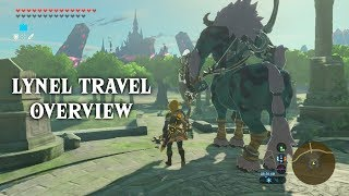 [BotW] Lynel Travel Overview *UPDATED (see description)