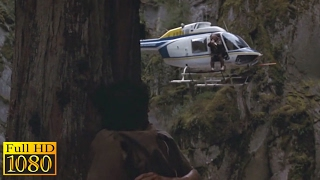 Rambo First Blood (1982) - Rambo Vs Helicopter Scene (1080p) FULL HD