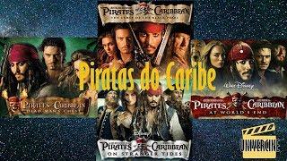 Piratas do Caribe (1-4) resumo em 10 minutos