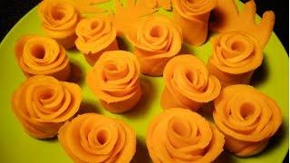 সহজে গোলাপ পিঠা তৈরীর রেসিপি ।। Rose Flower Pitha