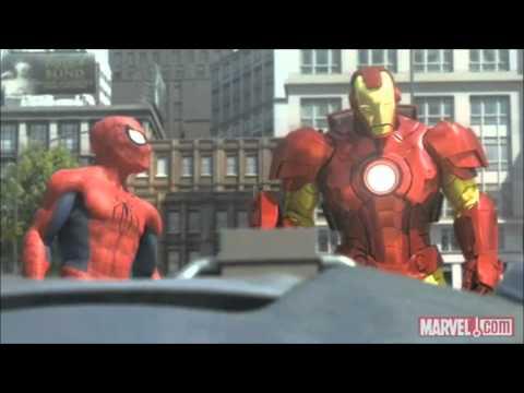 Spider-Man, Iron Man and the Hulk