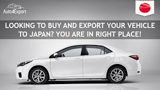 Shipping cars from USA to Japan - Auto4Export