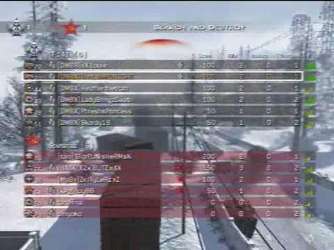 Modern Warfare 2: 15-3 Search and Destroy on Derail