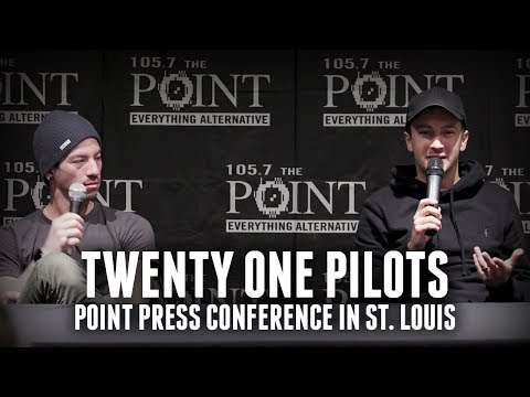 Twenty One Pilots on adding members strange fears Point Press Conference