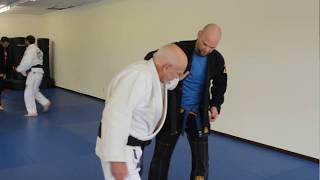 Off balancing (kuzushi) for Seoi Nage, Judo for Jiu Jitsu