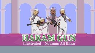 'Everything's Haram' Gun | illustrated | Nouman Ali Khan