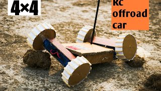 How to make a rc car 4WD!!!