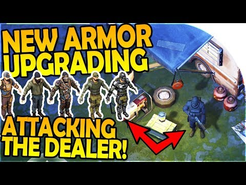 NEW ARMOR UPGRADING / UPGRADES - ATTACKING THE DEALER - Last Day On Earth Survival 1.5.9 Update