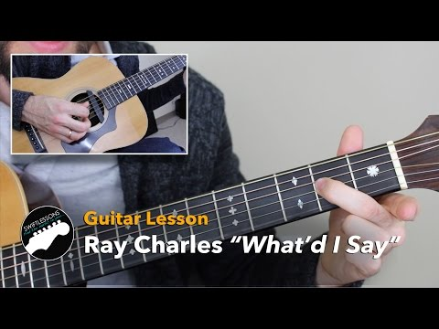 Xxx Mp4 Ray Charles What D I Say Acoustic Guitar Lesson 3gp Sex