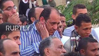 Egypt: Funeral for slain officer after dozens killed in shootout with militants