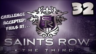 Saints Row the Third [Part 32] - Super Happy Funtime Challenge!