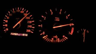 Acceleration 40-210km/h Turbocharged BMW E36 318is coupe 287KM/332Nm by HP Performance