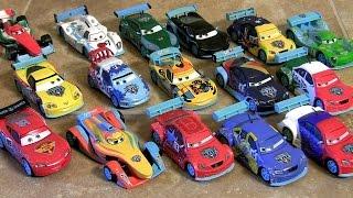 16 CARS Ultimate Ice Racers Diecast Collection Disney Pixar Juguete de Coches Derrapes sobre Hielo