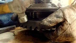 How to rebuild a Ford 8/9 inch rear end in a garage