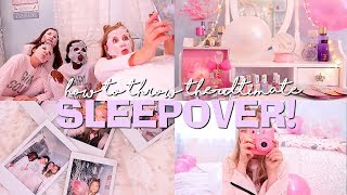 HOW TO THROW THE ULTIMATE SLEEPOVER! | Coco