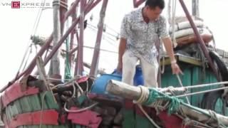 Tàu cá Hải Phòng bị 7 cú đâm từ tàu Trung Quốc