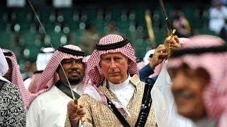 Prens Charles Arabistan'da kılıcını çekti - BBC TÜRKÇE