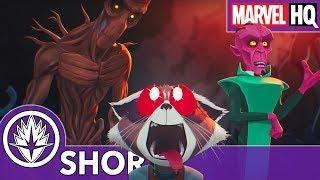 Rocket and Groot Crash Their Ship! | Marvel's Rocket & Groot | Episode 1