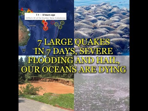 Xxx Mp4 7 LARGE QUAKES IN 7 DAYS SEVERE FLOODING AND HAIL OUR OCEANS ARE DYING 3gp Sex