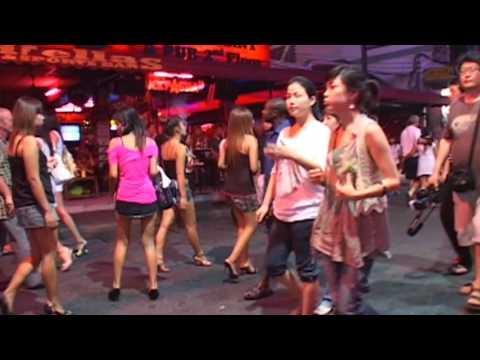 Pattaya Walking Street go-go girls clubs bars hot babes