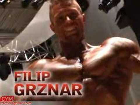 czech young muscle possing models male