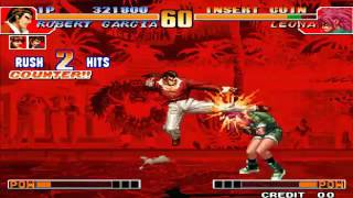 Tips vs Bosses Robert vs O Leona KOF