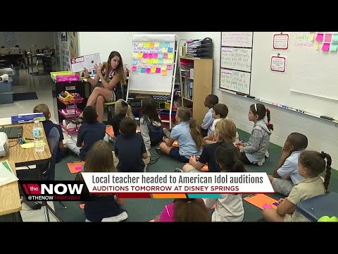 Xxx Mp4 Local Teacher Headed To American Idol Auditions 3gp Sex