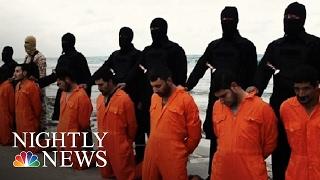 ISIS Beheads 21, Egypt Retaliates | NBC Nightly News