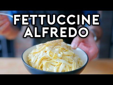 Binging with Babish Fettuccine Alfredo from The Office