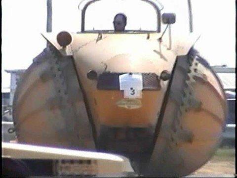 Strange looking Vehicle