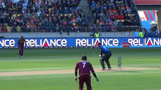 *Crowd View* Martin Guptill reaches 200 vs West Indies CWC Quarter Final