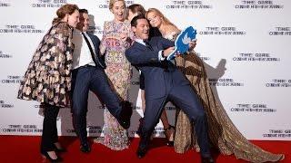 The Girl On The Train World Premiere Red Carpet - Emily Blunt, Luke Evans, Haley Bennett