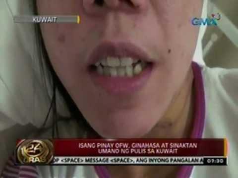 Xxx Mp4 24 Oras Isang Pinay OFW Ginahasa At Sinaktan Umano Ng Pulis Sa Kuwait 3gp Sex