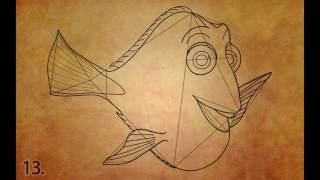 How To Draw Dory Step By Step (Finding Dory)