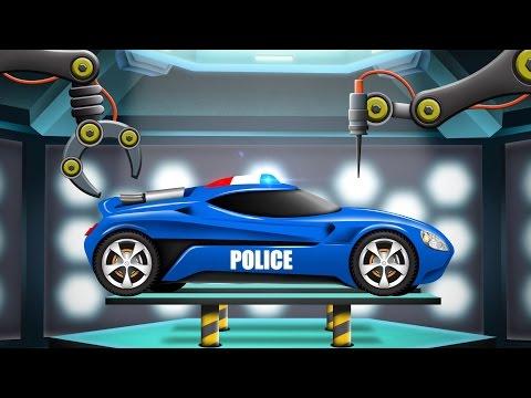 Xxx Mp4 Police Car Car Garage Cartoon Car Remodel Futuristic Vehicles For Kids 3gp Sex