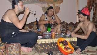 مهرجان فريق الاحلام طريق الموت زيزو النوبى و حمو صبحى من البوم على باب الحارة 2014