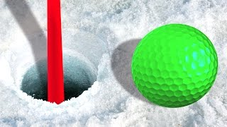 IMPOSSIBLE ICY GOLF MAPS! (Golf It)