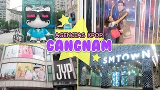 Conoce Corea: GANGNAM + Agencias KPOP SM | JYP | FNC | Hablemos de Doramas