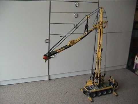 MobileCraneMK80 LEGO Mobile Crane Remotely Controlled Technic Power Functions