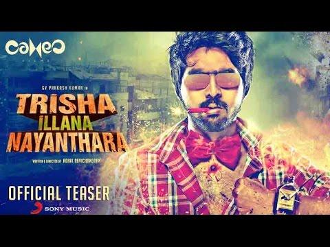 Trisha Illana Nayanthara Official Teaser | G. V. Prakash Kumar, Anandhi