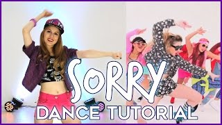SORRY - Justin Bieber | Dance TUTORIAL - Aprende a bailar paso a paso