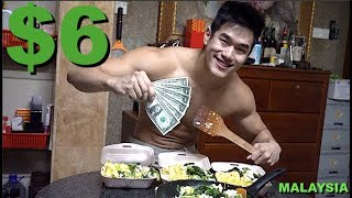 $6 Budget Muscle Building Diet in Malaysia | Alex Chee