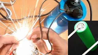 How to Make Battery Spot Welder DIY || Use Capacitor & Laptop Charger